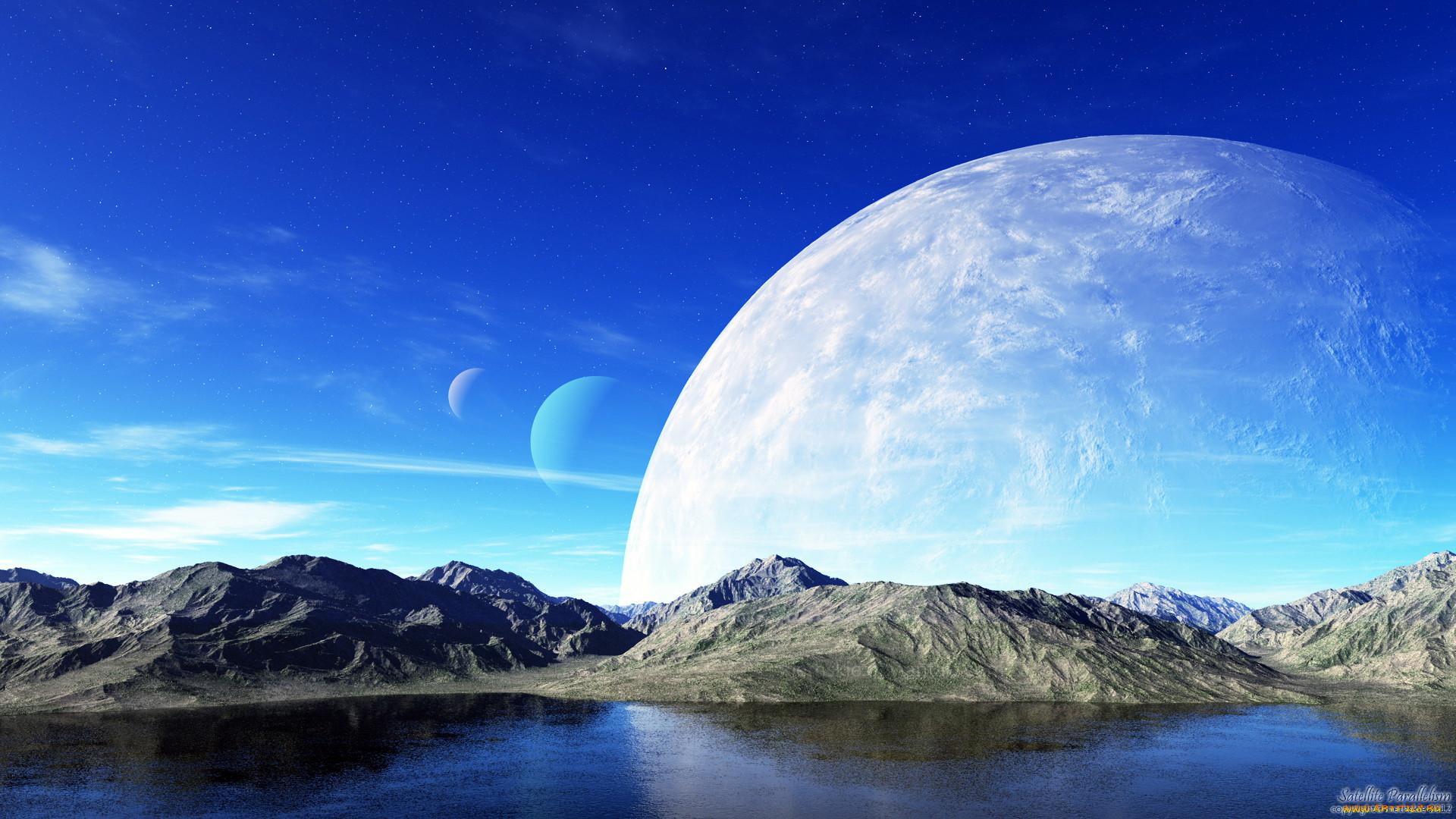 картинки луны и других планет часть